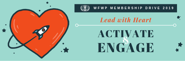 WFWP MEMBERSHIP DRIVE, Lead with Heart, Activate and Engage